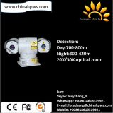 Блок развертки обнаруживает камеры лазера ночного видения 400m поддержку Onvif солнечной силы CCTV оптически ультракрасную беспроволочную