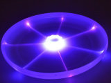 Brinquedos do Frisbee do diodo emissor de luz para o cão de animal de estimação