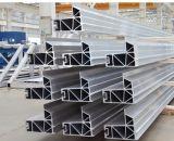 El aluminio de aluminio del gran parte sacó perfil