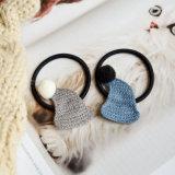 6 حبك لون قبعة [بوم] [بومس] كرة [إلستيك] [هيربند]