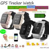 Самый новый вахта отслежывателя GPS взрослого с телефоном APP (T59)