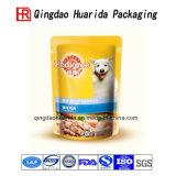 Bolso del acondicionamiento de los alimentos de perro del bolso del alimento de animal doméstico del bolso del conjunto de la laminación