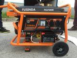 전기 시작 및 건전지를 가진 2016 신형 홈 사용 작은 휴대용 휘발유 2kVA 가솔린 발전기