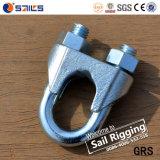 Galv DIN741可鍛性ワイヤーロープクリップ