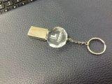 Lecteur flash USB de cristal de carte mémoire Memory Stick en métal USB