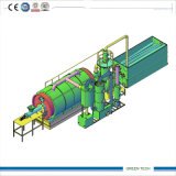 Ussd qualificato Tyre Refinery Plant Pyrolysis Tyre a Oil