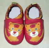 屋内革赤ん坊靴010