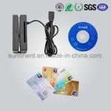 USB 2 in 1 IC Lezer van de Kaart en van de Magnetische Kaart/Schrijver