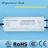60W Waterproof o excitador ao ar livre do diodo emissor de luz IP65/67 com GV