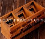 Rectángulo de madera del rectángulo antiguo de la vendimia de la alta calidad