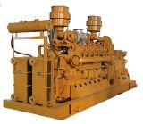 L'iso BV del CE ha autorizzato il generatore del biogas di 10kw-600kw Cummins della biomassa del combustibile, metano