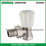 Qualitätsgarantie-Winkel-Typ Messingkühler-Ventil (AV3067)