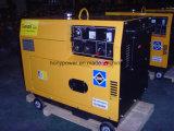 Générateur diesel silencieux de l'usine 5kw de la Chine de certificat de la CE (hy5500DGS)