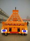 3つの車軸熱い販売のための骨組容器のトレーラー
