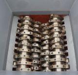 Plástico/neumático del caucho/del tambor/película/terrones de madera/bolsos tejidos enormes/sola desfibradora del eje/del doble/cuatro ejes