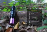 Purpurrote helle Jade-Leuchtstoffbefund-Geld Detectorled Taschenlampen-UVtaschenlampe