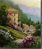 Villaveの家との古典的な景色