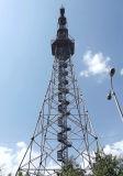Предварительные башня телекоммуникаций 4 GSM конфигурации Legged трубчатая стальная