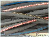 Tubo flessibile di gomma idraulico Braided SAE100 R1at/R2at del collegare