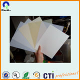 Plastic Sheets Lampshade 0.4mm blanc laiteux PVC Film