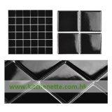 De zwarte Ceramische Tegel van het Mozaïek (wh-D563)