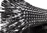 Câmara de ar trançada da luva do cabo da luva da fibra do carbono