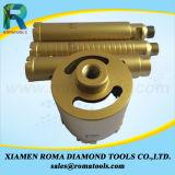 Romatools 다이아몬드 코어 드릴용 날은 를 위한 콘크리트, 화강암을 강화한다