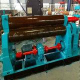 W11 máquina de doblado mecánico del rodillo de la placa