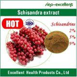 自然なSchisandraのフルーツP.E Schizandrinsの粉