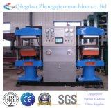 Hydraulische doppelte Gummistation-vulkanisierendruckerei-Maschine