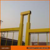 Fáceis padrão do Ca instalam a cerca provisória