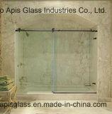 セリウムおよびSGCCの組み立てられたドアの緩和されたガラスのパネルを滑らせる10mmのオフィスかバンクまたはホテル