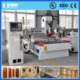 Precio Puerta de madera Carvning 3D de grabado CNC Máquina Center fábrica