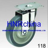 Chasse grise de dessus de plaque d'émerillon de roue de TPR
