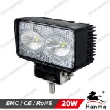 Truck、Trailer、Offroadおよび重いDuty Equipmentのための20Wクリー語Chip 1800lm LED Work Light (HML-0920)