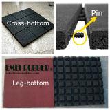 Standaard Plein Rubber Tegel, Rubber Vloer voor Playground