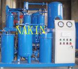 Macchina di pulizia di Re-Raffinamento dell'olio lubrificante del Ce e purificatore di olio utilizzati certificato della turbina