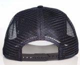 Tampão do chapéu do camionista do engranzamento do algodão do preto da qualidade superior