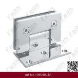 Dobradiça de bronze Offset do chuveiro de 90 graus para o banheiro (SHS. 90L. BR)