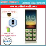 """42 """" LCD Signage van het Scherm Digitaal het Laden van de Telefoon van de Cel van de Kiosk van de Speler Vrij Mobiel Station"""