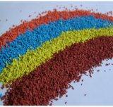 Grânulo vermelhos de EPDM para a trilha Running plástica