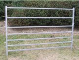 Сверхмощный овальным используемая рельсом панель загородки поголовья