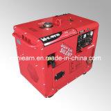 5kw Air-Cooled極度の無声ガソリン発電機セット(GG6500S)