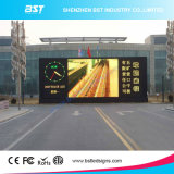 Bst P6 기업 Aniversay를 위한 고밀도 Wateproof 옥외 광고 발광 다이오드 표시 스크린 게시판