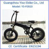Bicicleta elétrica gorda da neve elétrica