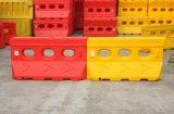 barreiras amarelas e vermelhas de 1500mm do tráfego de água