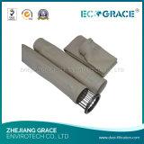 Sacchetto filtro resistente a temperatura elevata del collettore di polveri del ciclone PTFE