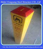 Столбы отметки газопровода усиленные стеклянным волокном пластичные FRP