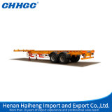 De Chhgc 40FT do recipiente 2axles reboque de esqueleto Semi com plataforma