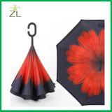 Het nieuwe Ontwerp overhandigt Vrije Magische Paraplu Omgekeerde Omgekeerde Omgekeerde Paraplu